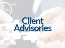 Client Advisories