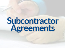 Subcontractor Agreements